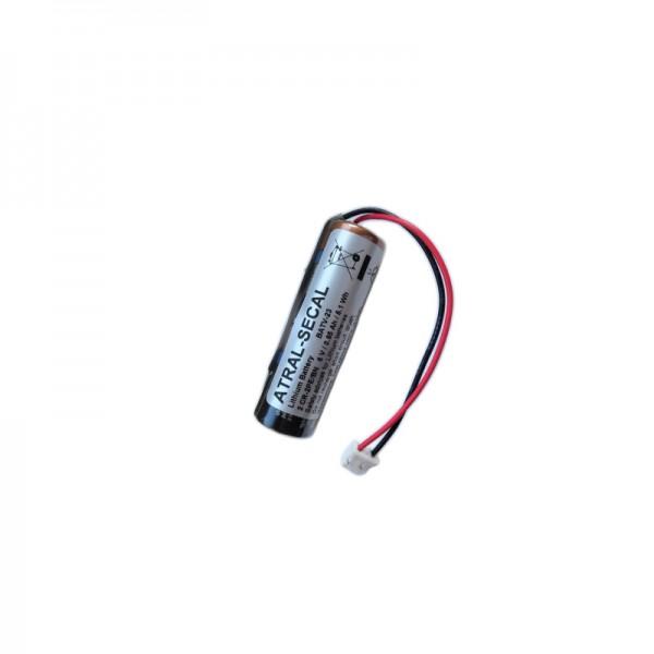 Batterie Pack BATV23 | Für D22 Kontaktsender & Melder | Lithium-Batterie 6V 0,9Ah | Daitem