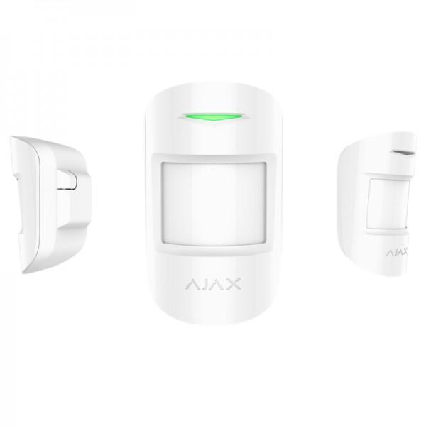 Funk Bewegungsmelder für HUB Alarmzentrale | MotionProtect | Smart Home | PIR | Kabellos | AJAX weiß