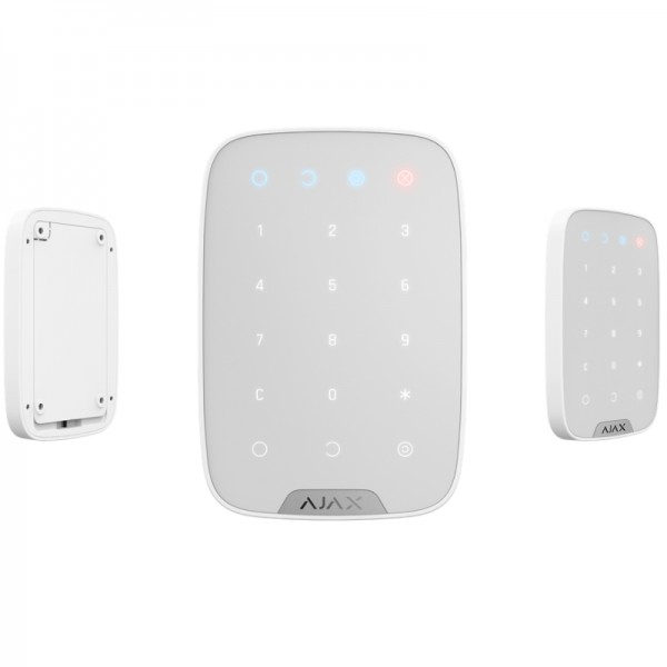 Funk Fernbedienteil für HUB Alarmzentrale   Keypad   Smart Home   Touch Tastatur   AJAX weiß