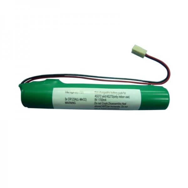 Batterie BS170-N   Alarmanlage   Sirene   9V / 1700mA   UTC