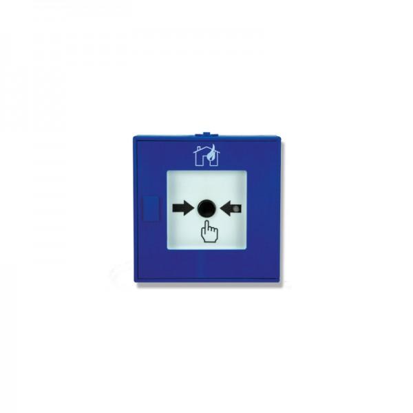 Funk Druckknopfmelder BEKA | Hausalarm VDE 0826-2 | Blau | Daitem
