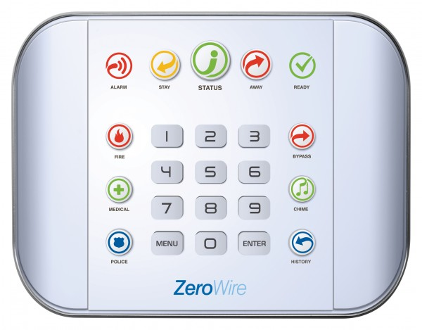 Aritech | Smart Home - Funk Alarmanlage | Zentrale ZW6404 | ZeroWire | Hausautomation | Z-Wave | UTC
