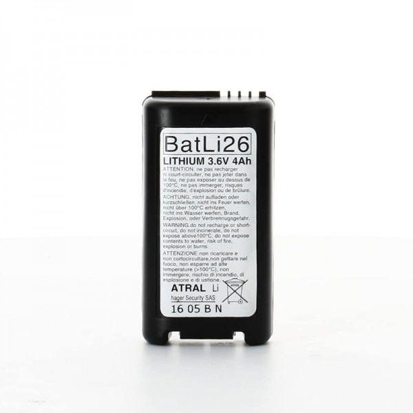 Batterie Batli26 | Funk-Alarmanlage | Lithium 3,6V / 4AH | Daitem