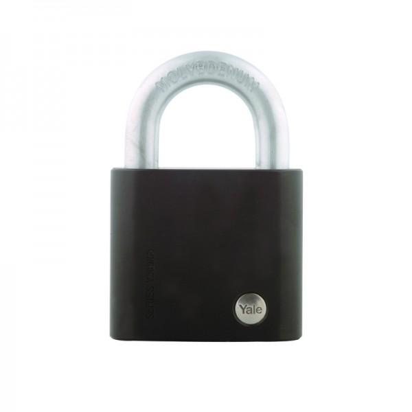 Vorhangschloss Y300 63 Edelstahl Hangschloss | Hoher Korrosionsschutz | Größe 63 | Schlüssel | YALE