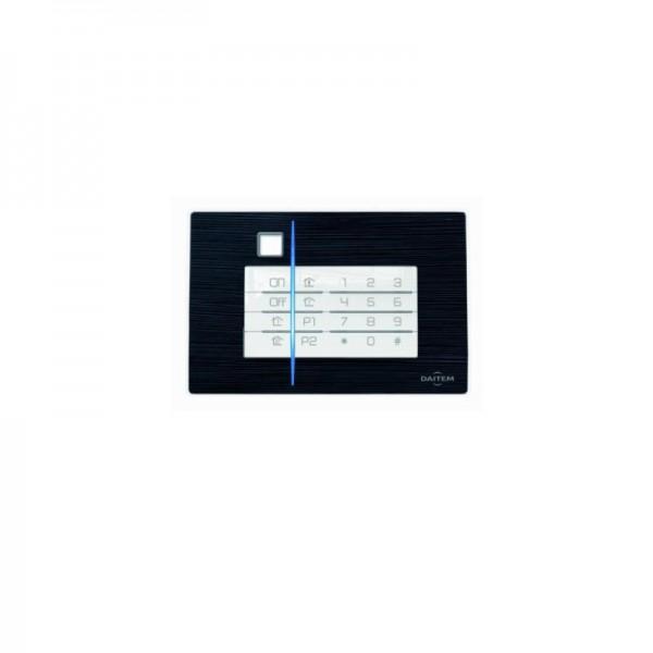 Deko-Cover Schiefer für Code-Bedienteil D22 Alarmanlage | Daitem