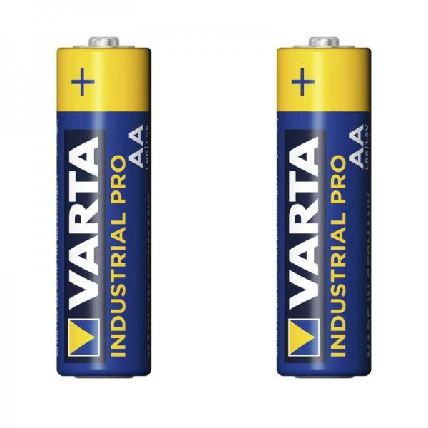 Batterie 2 Pack | VARTA Industrial Pro AA | 2900 mAh 1.5V | VARTA