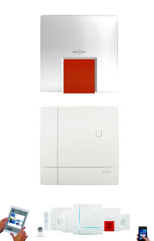 Kabellose Design Funk Alarmsystem