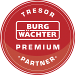Wir sind ausgewählter Tresor Premium Partner von Burg Wächter